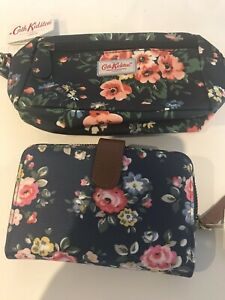 cath kidston Wallet & Toiletry Bag