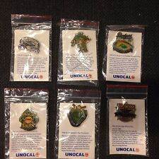 1990 Dodgers Unocal Pins LOT OF 6 PINS FOUR WORLD CHAMPIONS,YOU GET 6 OF THE 8