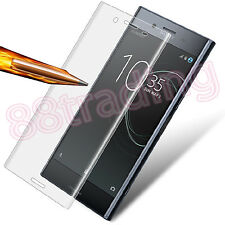 CURVED FIT TEMPERED GLASS SCREEN PROTECTOR PROTECTION FOR SONY XPERIA XZ PREMIUM