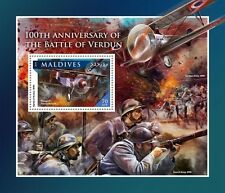 Maldiven / Maldives - Postfris/MNH - Sheet Battle of Verdun 2016