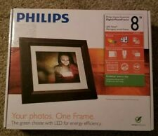 "Philips Home Essential 8"" Digital Photo Frame BRAND NEW FAST SHIPPING"