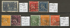 FIN0025 Finland 1930- 1942 4 sets