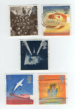 GB Stamps. SG1873-1877 Europa Peace and Freedom Similar to General Scan