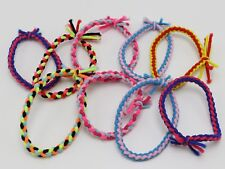 30 Multi-Color Elastic Braided Ruber Hair Tie Hair Rope Bands Ponytail Holder