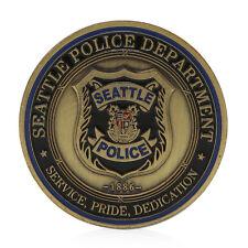 Saint Michael Seattle Police Department Commemorative Challenge Coins Collection