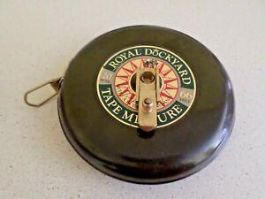 Royal Dockyard commemorative tape measure - Naval collectors item. 20m, 66f