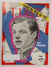 Time Magazine November 29 1971 Ted Kennedy Could He Win In 72 - English - Weekly