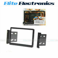 DOUBLE DIN AFTERMARKET FACIA KIT CAR RADIO STEREO HEADUNIT FOR HOLDEN VT VX