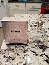 Martell XO Cognac 750 ML Empty Bottle and Original Box