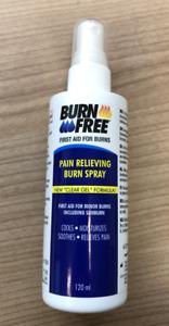 Burnfree 120 ml SPRAY Brandwunden Verbrennungen Erste Hilfe Sonnenbrand #23651