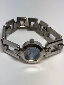 """Nixon """"Nice"""" """"No Other Watch Is Closer To The Truth"""" SS Ladies Quartz Watch"""