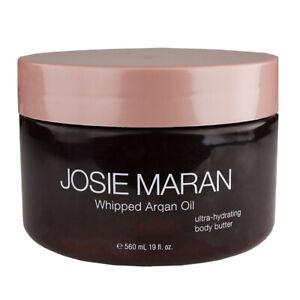 Josie Maran Whipped Argan Oil Body Butter 560ml/19oz, Unscented/Light Bronze -NS