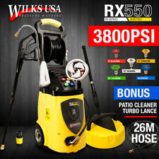 Electric Pressure Washer - 3800PSI Induction Patio Jet Cleaner ~ WILKS-USA RX550