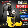 Electric Pressure Washer - 3800 PSI /262 Bar Patio Jet Cleaner ~ WILKS-USA RX550