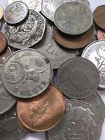 100 Gramm Restmünzen/Umlaufmünzen Gambia