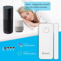 WIRELESS WIFI SMART DOOR WINDOW GAP SENSOR APP ALARM  Amazon Alexa Google