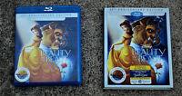 DISNEY BEAUTY AND THE BEAST (25TH ANNIVERSARY) BLURAY + DVD + SLIPCOVER LIKE NEW