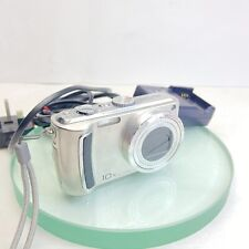 Panasonic LUMIX DMC-TZ4 8.1MP Digital Camera - Silver, ORG Charger, Battery #922