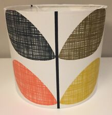 Handmade Lampshade in Orla Kiely Scribble Stem Fabric, Ceiling Or Lamp 40cm