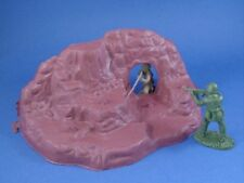 MPC Rock Cave Front Caveman Prehistoric WWII Toy Soldier Diorama Piece