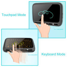 H18+ Mini Wireless 2.4G Keyboard Touchpad Mouse with Backlight for PC TV AC1305