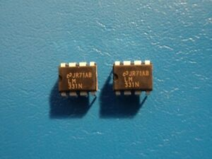 NATIONAL LM331N PRECISION VOLTAGE to FREQUENCY CONVERTER QTY = 2