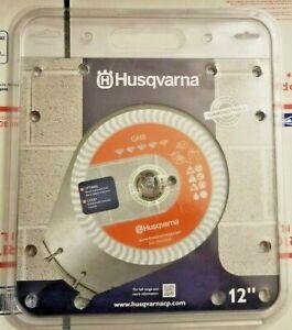 "Husqvarna 542751122 GH8 General Purpose Abrasive Material Diamond Blade 12"""