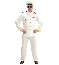 MENS CAPTAIN NAVY 80s OFFICER AND A GENTLEMAN FANCY DRESS COSTUME MOVIE SAILOR