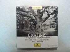 BRAHMS: 4 Symphonies / Haydn Variations - Karl Bohm - 3 CD Set - D.G. Import OBI