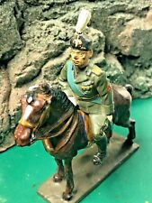 Vintage Lineol 7.5cm composition horse and Italian soldier