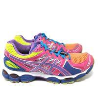 Asics Gel Nimbus 14 Pink Purple T291N Trail Running Shoes Women's Size 9.5