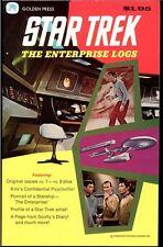1976-77 STAR TREK ENTERPISE LOGS VOLUMES 1-4 HIGH GRADE GOLDEN PRESS GOLD KEY