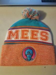 NWT- Mr. Meeseeks Pom Beanie Hat - Rick and Morty Officially licensed merch