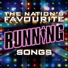 VARIOUS ARTISTS - THE NATION'S FAVOURITE RUNNING SONGS NEW CD