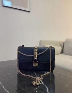 VALENTINO Garavani, Glam Lock, ROCKSTUD, Original, Bag, Tasche, Crossbody