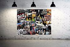 Beastie Boys Through the Years Canvas Art Collage - Old School Hip Hop