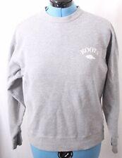 Roots Canada Vtg Gray Beaver Crewneck Hoodie Pullover Sweatshirt Men's S