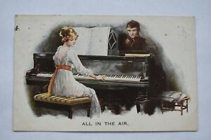 Postcard 'All in The Air' Posted 1918 War Bonds Stamp Artisque Series No. 2250