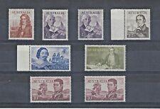 Navigators 1963 - 1965  Pre-decimal Full Set of 8 MNH incls. white papers