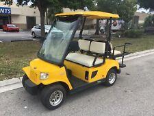New listing  2010 Tomberlin emerge yellow 4 passenger seat golf cart 48v street legal lsv