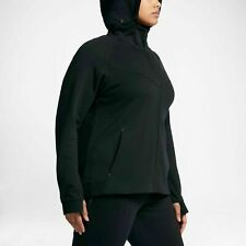 NWT Women's Nike Sportswear Tech Fleece Full-Zip Hoodie Black 1X 863125 010