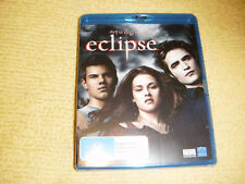 THE TWILIGHT SAGA ECLIPSE 2010 BLU RAY DVD NEW & SEALED vampires REGION B