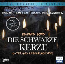 Die schwarze Kerze * CD Hörspiel Edward Boyd Krimi MP3-CD Pidax Neu Ovp