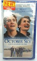 October Sky VHS Special Edition 2000 Universal Laura Dern New Sealed