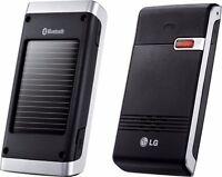 LG Solar Powered Bluetooth SpeakerPhone Car Kit Portable Speaker HFB-500 No Clip