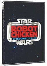 ROBOT CHICKEN : STAR WARS EPISODES 1 2 & 3  -  DVD - PAL Region 2 - New