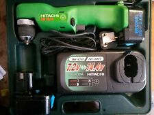 Hitachi DN12DY 12v Cordless Right Angle Drill Driver Kit  UC24YFA Charger