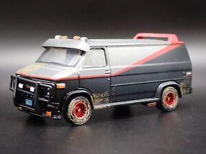 1983 83 GMC VANDURA A-TEAM VAN DIRTY RARE 1/64 SCALE DIORAMA DIECAST MODEL CAR