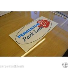 PEMBERTON Park Lane - (OVAL) - Static Caravan Sticker Decal Graphic - SINGLE