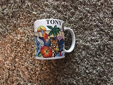 tony Personalized Name Papel Coffee For a souvenir